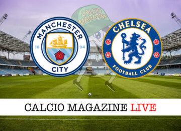 Manchester City - Chelsea cronaca diretta live risultato in tempo reale