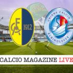 Modena Albinoleffe cronaca diretta live risultato in tempo reale