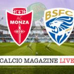 Monza - Brescia cronaca diretta live risultato in tempo reale