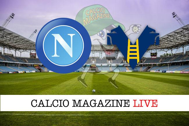 Napoli - Hellas Verona cronaca diretta live risultato in tempo reale