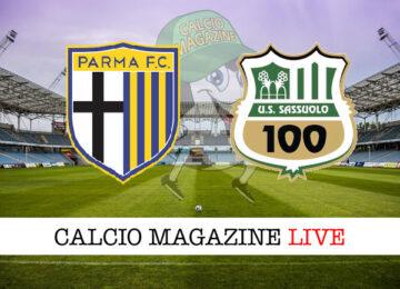 Parma Sassuolo cronaca diretta live risultato in tempo reale
