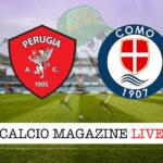 Perugia Como cronaca diretta live risultato in tempo reale