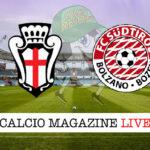 Pro Vercelli - Sudtirol cronaca diretta live risultato in tempo reale