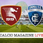 Salernitana Empoli cronaca diretta live risultato in tempo reale