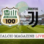 Sassuolo Juventus cronaca diretta live risultato in tempo reale