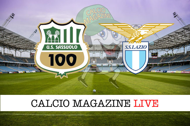 Sassuolo Lazio cronaca diretta live risultato in tempo reale