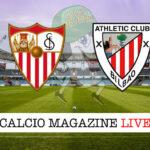 Siviglia - Athletic Bilbao cronaca diretta live risultato in tempo reale