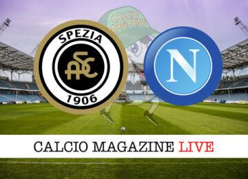 Spezia Napoli cronaca diretta live risultato in tempo reale