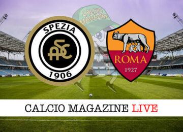 Spezia Roma cronaca diretta live risultato in tempo reale