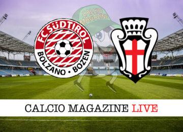 Sudtirol Pro Vercelli cronaca diretta live risultato in tempo reale