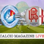 AlbinoLeffe - Alessandria cronaca diretta live risultato in tempo reale
