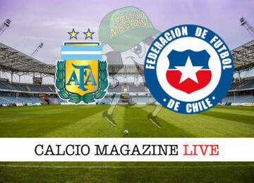 Argentina - Cile cronaca diretta live risultato in tempo reale