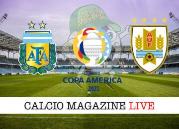 Argentina Uruguay cronaca diretta live risultato in tempo reale