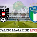 Austria Italia cronaca diretta live risultato in tempo reale