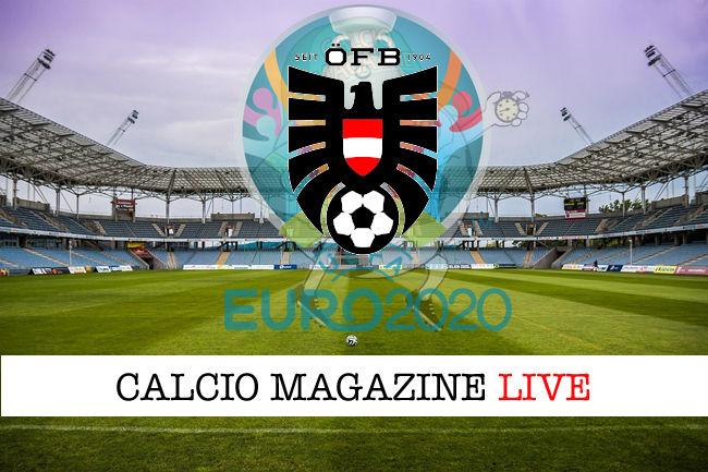 Austria logo Euro 2020