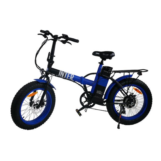 bicicletta elettrica inter