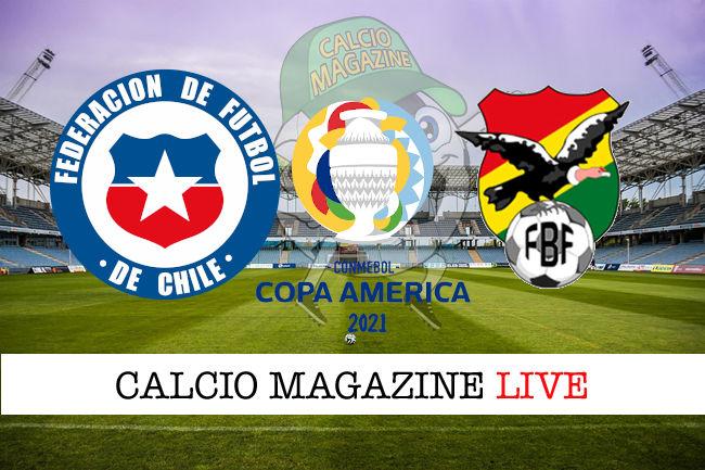 Cile Bolivia cronaca diretta live risultato in tempo reale