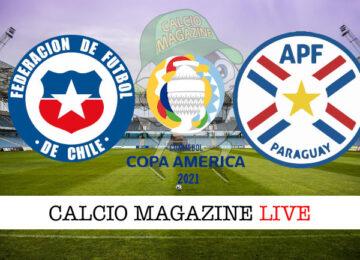 Cile Paraguay cronaca diretta live risultato in tempo reale