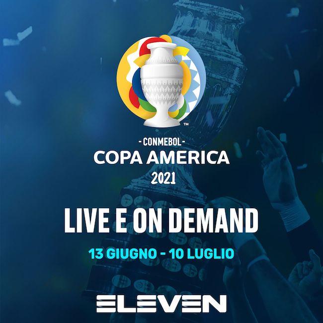 Copa America live e on demand
