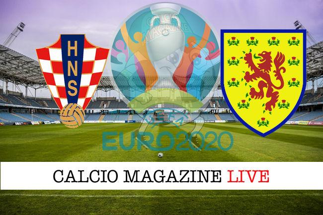 Croazia – Scozia: cronaca diretta live, risultato in tempo reale