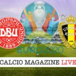 Danimarca Belgio Euro 2020 cronaca diretta live risultato in tempo reale