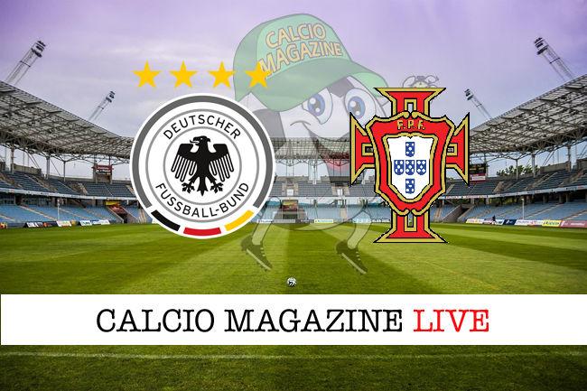 Germania Portogallo cronaca diretta live risultato in tempo reale