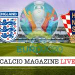 Inghilterra Croazia euro 2020 cronaca diretta live risultato in tempo reale