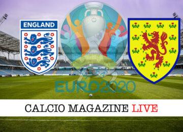 Inghilterra Scozia Euro 2020 cronaca diretta live risultato in tempo reale
