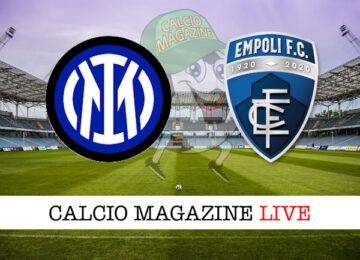 Inter Empoli cronaca diretta live risultato in tempo reale