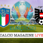 Italia Austria Euro 2020 cronaca diretta live risultato in tempo reale