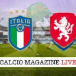Italia - Repubblica Ceca cronaca diretta live risultato in tempo reale