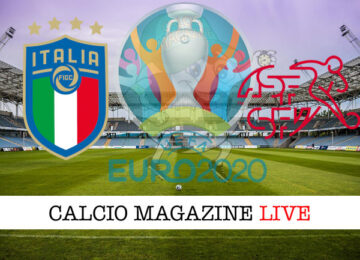 Italia Svizzera Euro 2020 cronaca diretta live risultato in tempo reale