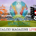 Olanda Austria Euro 2020 cronaca diretta live risultato in tempo reale