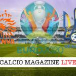 Olanda Ucraina euro 2020 cronaca diretta live risultato in tempo reale