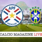 Paraguay Brasile cronaca diretta live risultato in tempo reale
