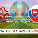 Polonia Slovacchia Euro 2020 cronaca diretta live risultato in tempo reale