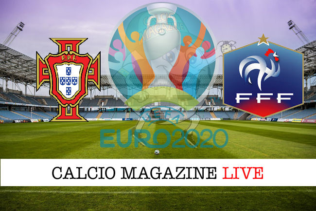 Portogallo Francia Euro 2020 cronaca diretta live risultato in tempo reale