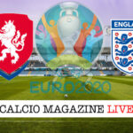 Repubblica Ceca Inghilterra Euro 2021 cronaca diretta live risultato in tempo reale