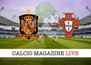 Spagna Portogallo cronaca diretta live risultato in tempo reale