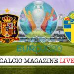 Spagna Svezia Euro 2020 cronaca diretta live risultato in tempo reale
