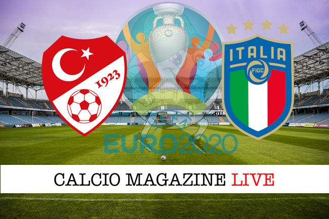 Turchia Italia euro 2020 cronaca diretta live risultato in tempo reale