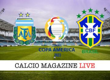 Argentina Brasile cronaca diretta live risultato in tempo reale