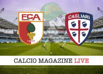Augsburg Cagliari cronaca diretta live risultato in tempo reale