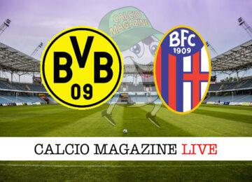 Borussia Dortmund Bologna cronaca diretta live risultato in tempo reale