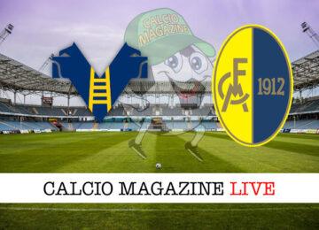 Hellas Verona Modena cronaca diretta live risultato in tempo reale