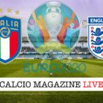 Italia Inghilterra Euro 2020 cronaca diretta live risultato in tempo reale