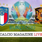Italia Spagna Euro 2020 cronaca diretta live risultato in tempo reale