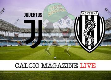 Juventus Cesena cronaca diretta live risultato in tempo reale