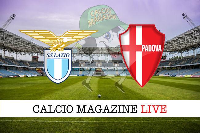 Lazio Padova cronaca diretta live risultato in tempo reale