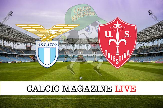 Lazio Triestina cronaca diretta live risultato in tempo reale